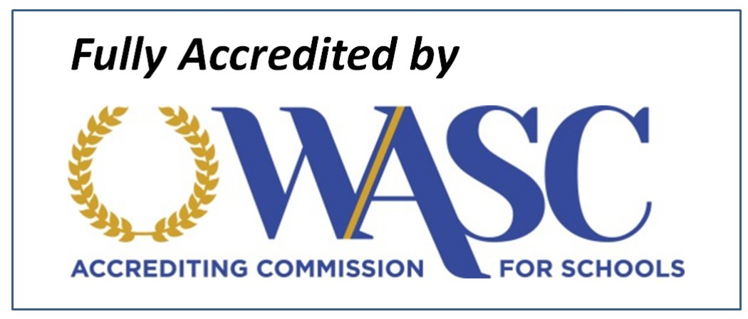 WASC - Fully Accredited