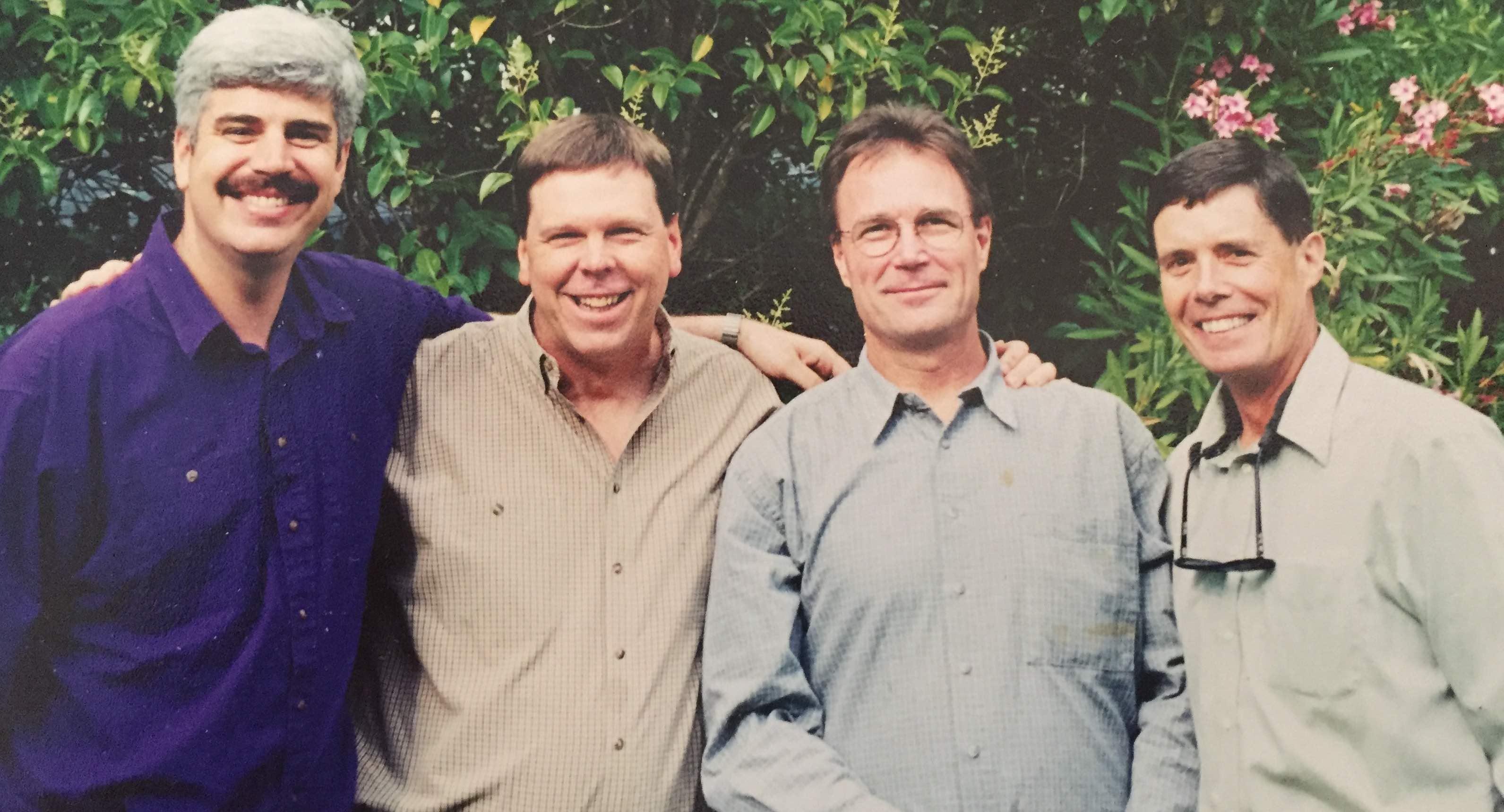 Dan, Rick, John & Patrick
