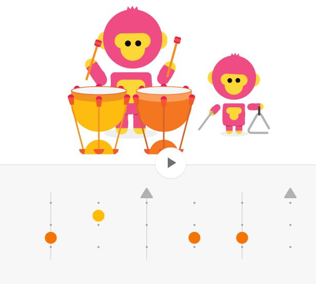 Rhythm Interface from Chrome Music Tool
