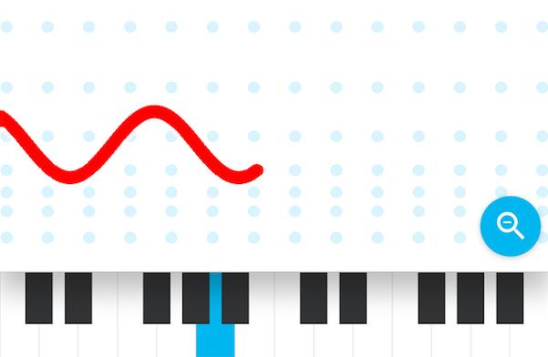 Sound wave image