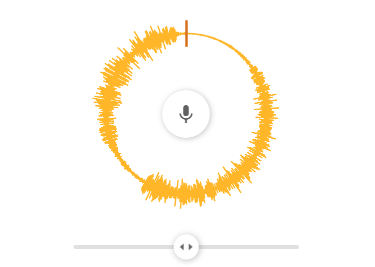 Voice Spinner Interface