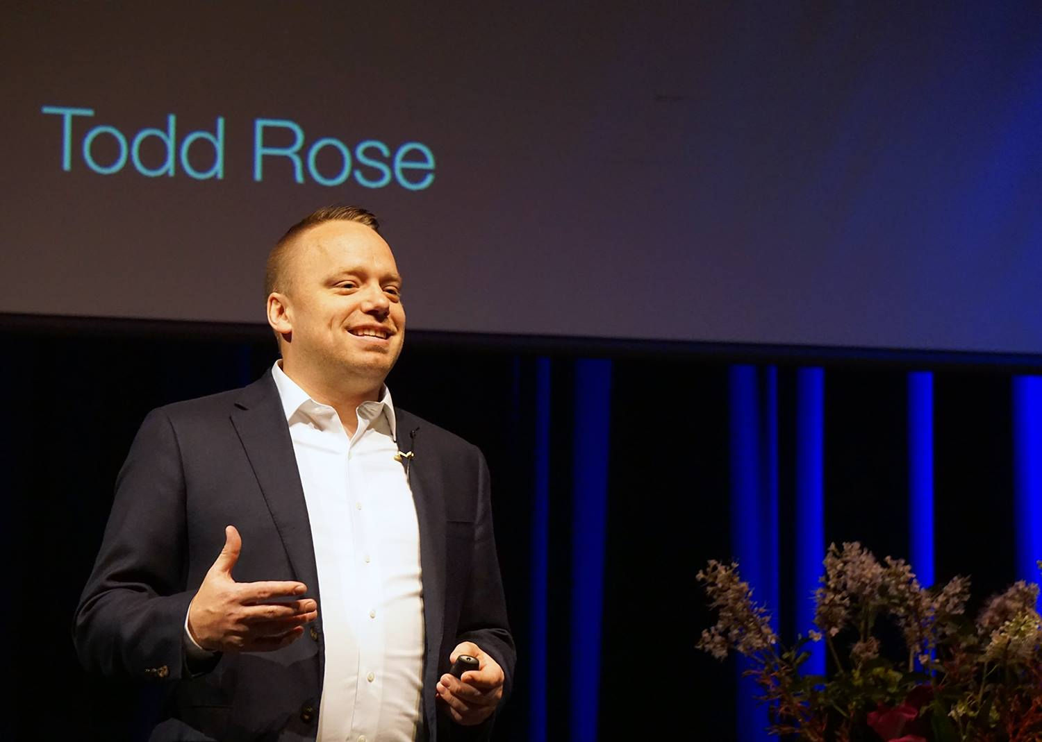 Todd Rose Speaks at ieSonoma