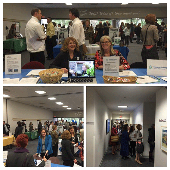 Job Fair Collage