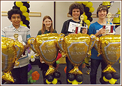 Junior High Spelling Competition Winners