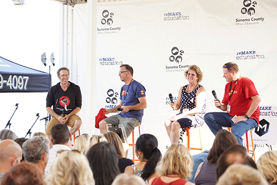 A panel of makers and maker educators discuss the power of making to transform classrooms.