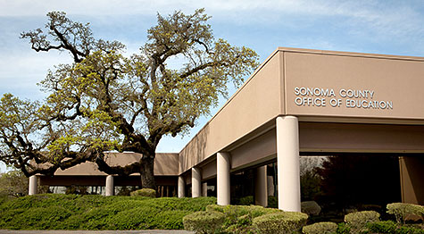 Sonoma County Office of Education main building