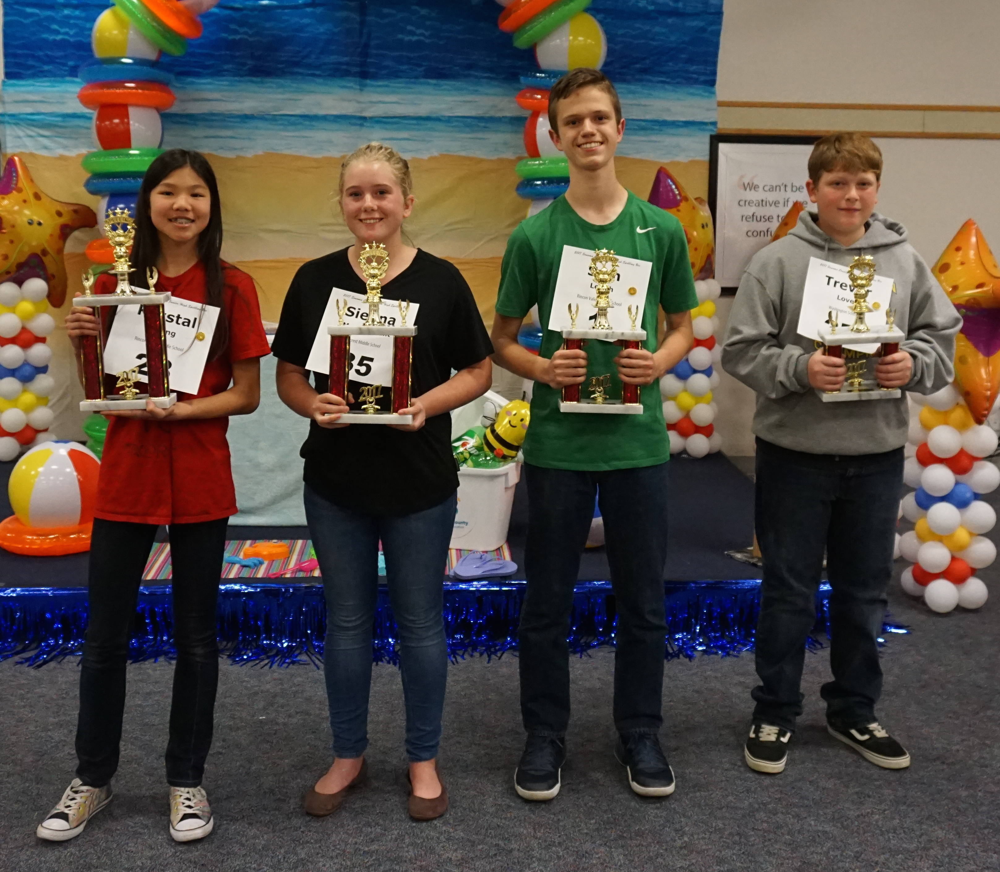 Junior High Spellers